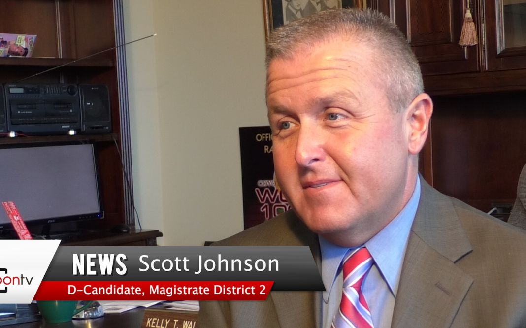 Election 2018 Two Minute Sitdowns Magistrate District 2 Candidate Scott Johnson Wallingford Broadcasting Company